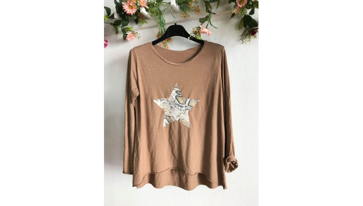 Long Sleeve STAR CAMEL