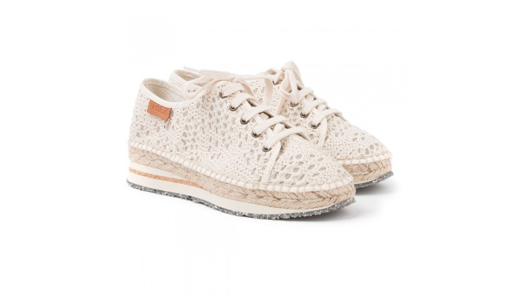 Sneakers PAEZ Croche Natural - ÚLTIMO PAR!!!